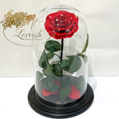 Троянди в колбі Lux 33 см і Elite 43 см ➖➤ різні кольори від 2100 грн